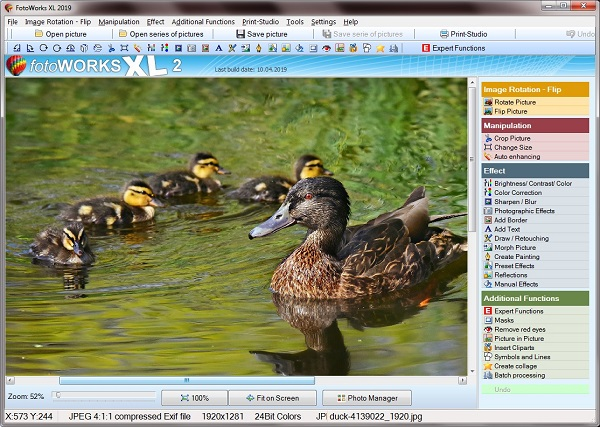 New photos editing software free download