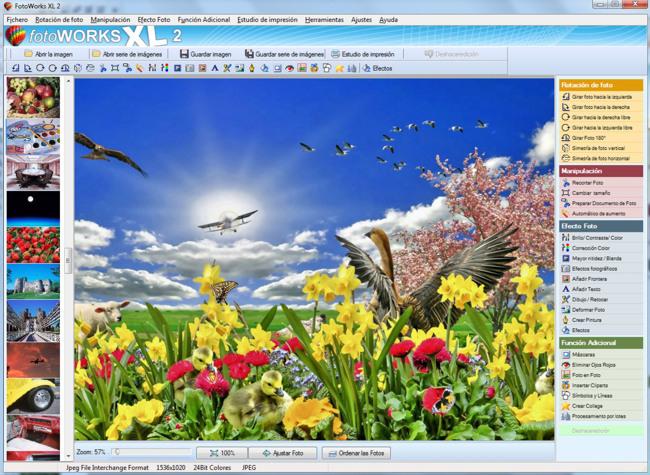 Software de Edición Fotográfica y Editor de Fotos
